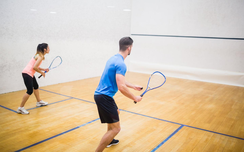 Squash Courts - Facilities at Villa Compounds in Dubai
