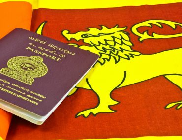 Sri Lankan Flag & Passport