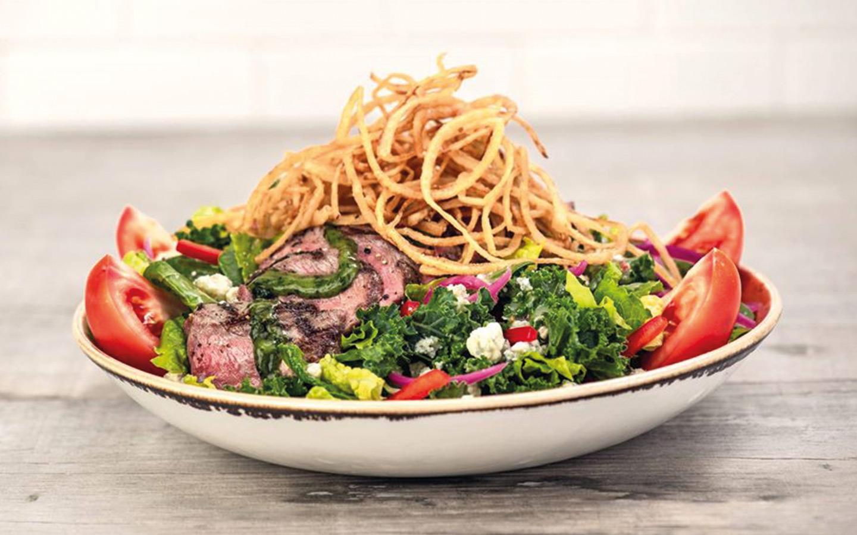 Steak Salad at Hard Rock Cafe