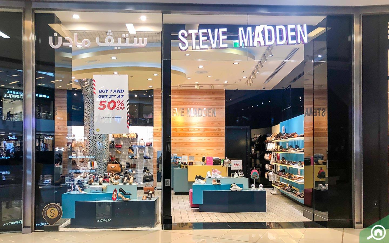 Steve Madden store in dubai marina mall