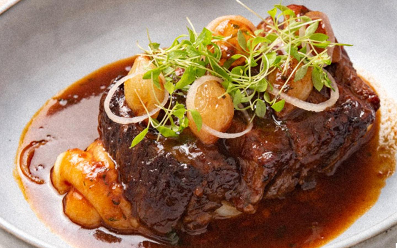 Stifado a popular dish from leading Greek restaurants in Dubai