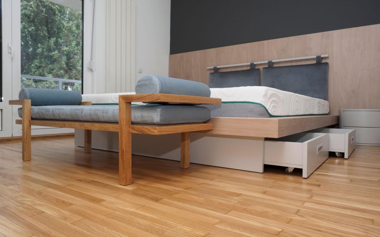 Storage under the bed - Storeroom design ideas