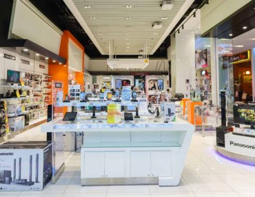 Inside view of one the places to buy electronics in Dubai