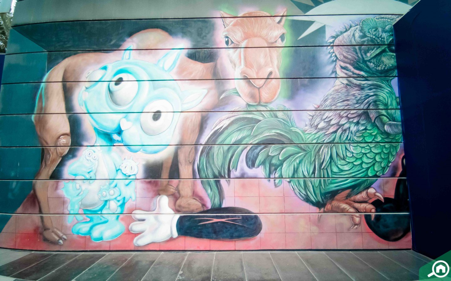 Street art - things to do in city walk dubai