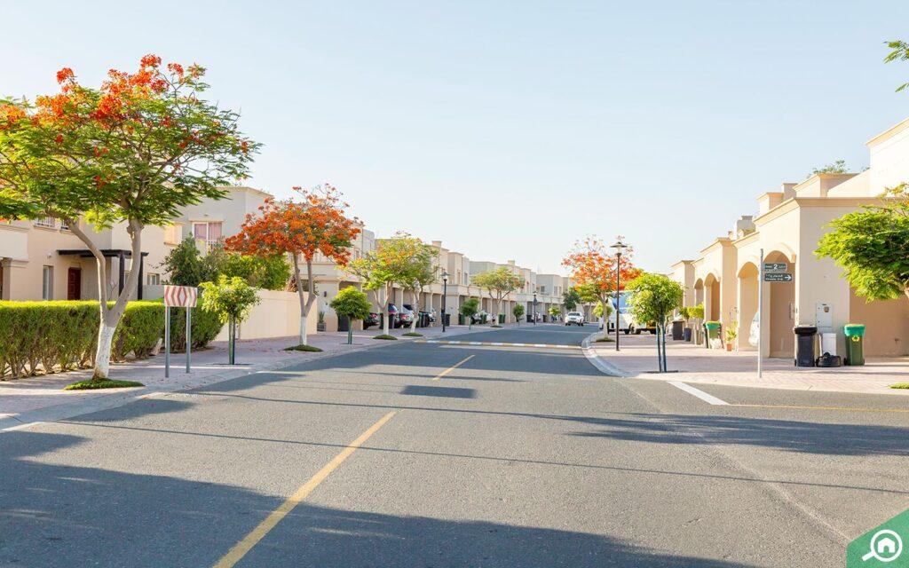 Street view of Springs villas