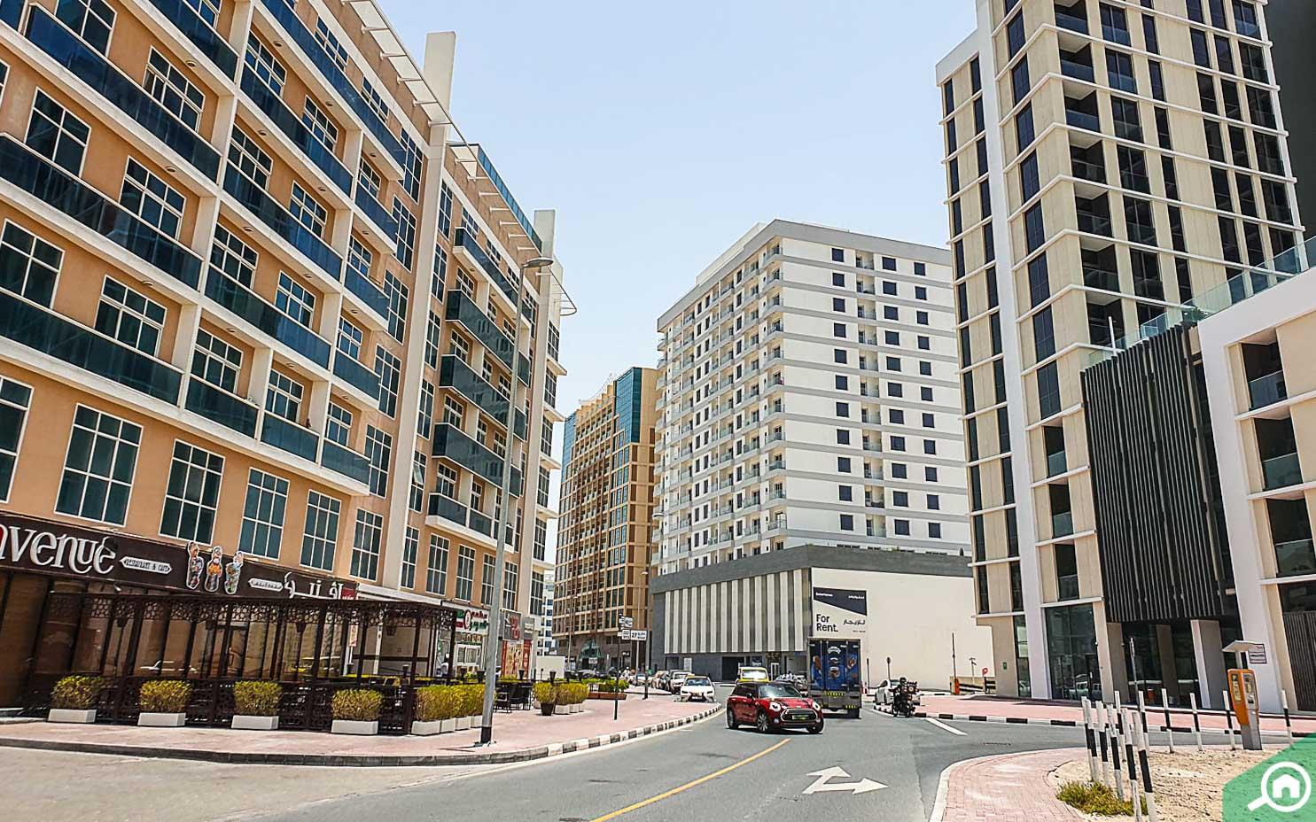 Living in Al Barsha neighbourhood