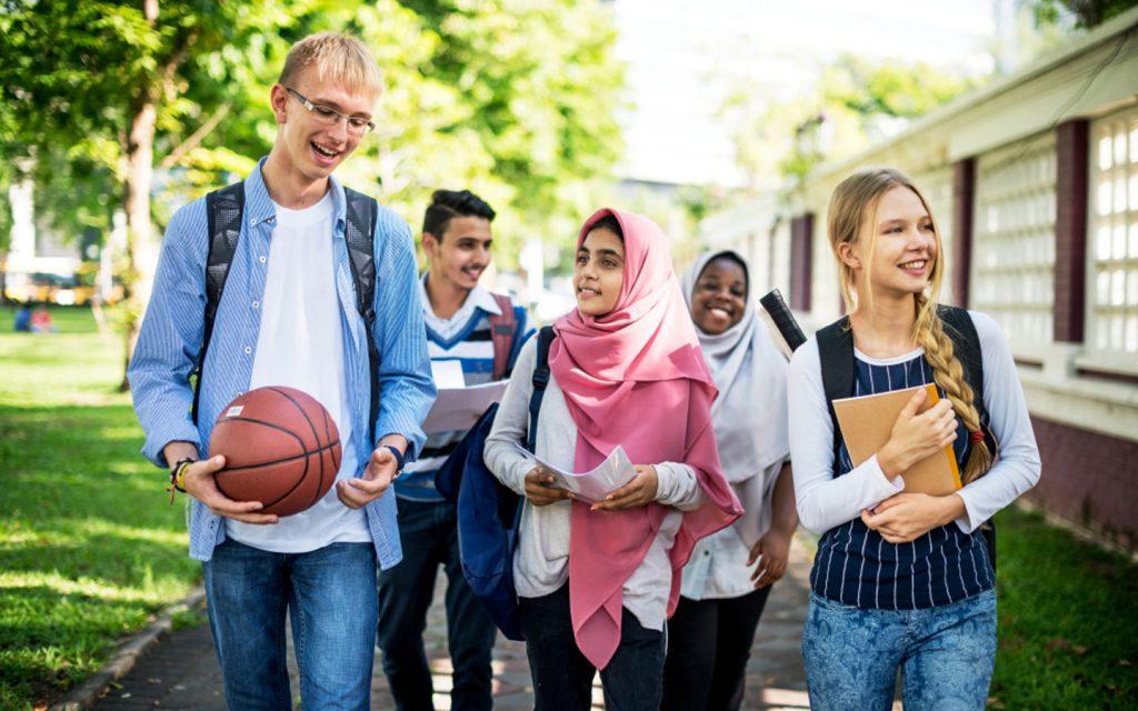 diversity of students in a UAE school