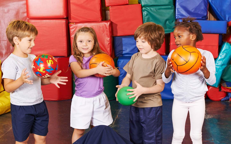 kids in activity area