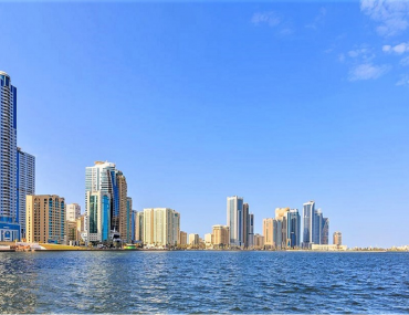 waterfront residential apartments in Sharjah