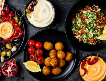 Picture of Middle Eastern Food