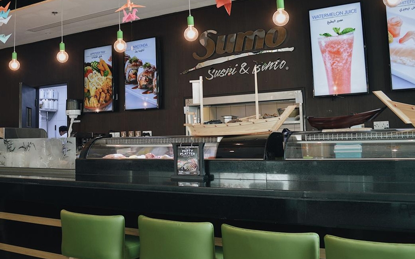 Sumo Sushi outlet in DSO