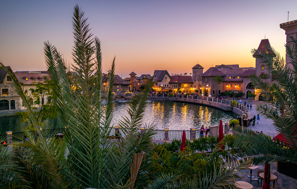 Riverland Dubai Sunset