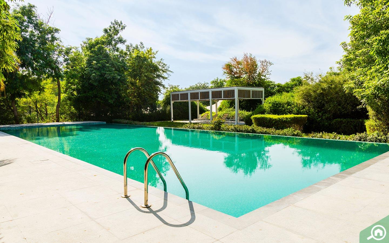 Al Barari pool