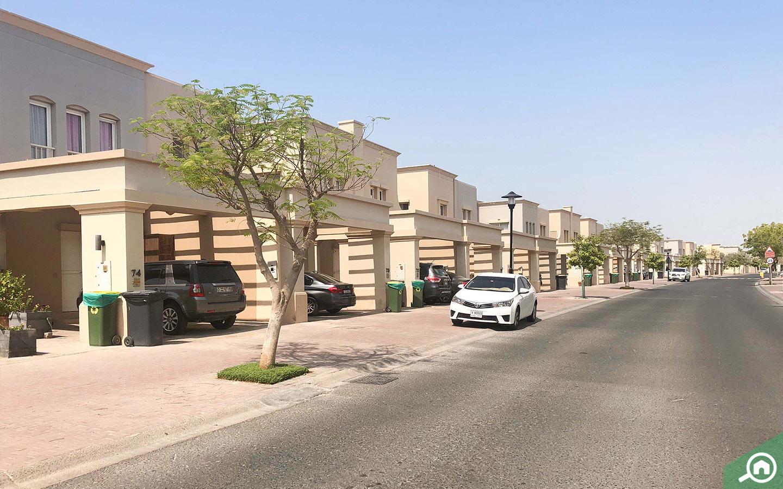 Street view of The Springs villas