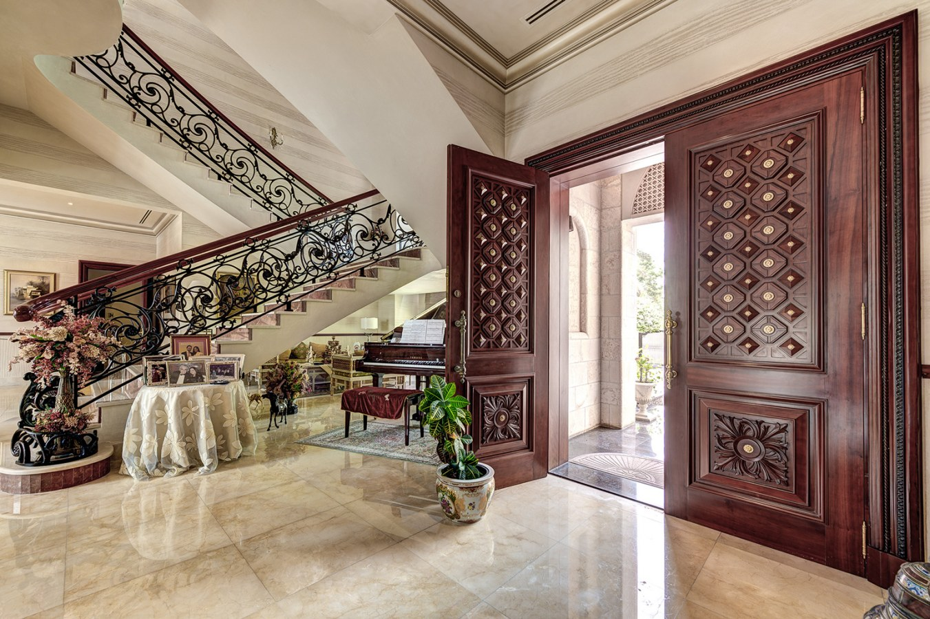 Luxurious villa for sale in Emirates Hills listed with The Noble House Real Estate on Bayut 02
