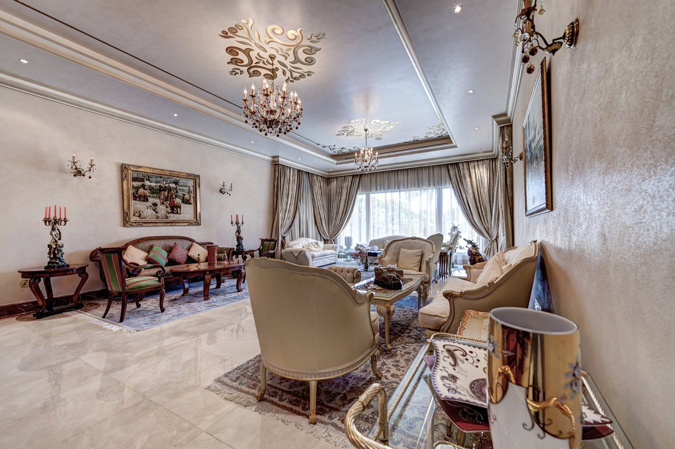 Luxurious villa for sale in Emirates Hills listed with The Noble House Real Estate on Bayut 05