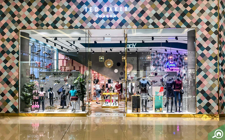 Ted Baker Store in Dubai Marina Mall