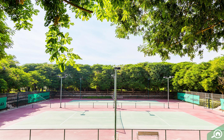 Al Barari Tennis Court