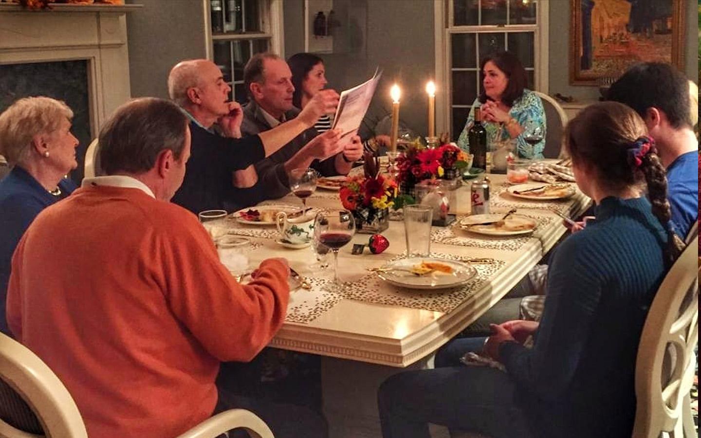 Americans in Dubai celebrating Thanksgiving