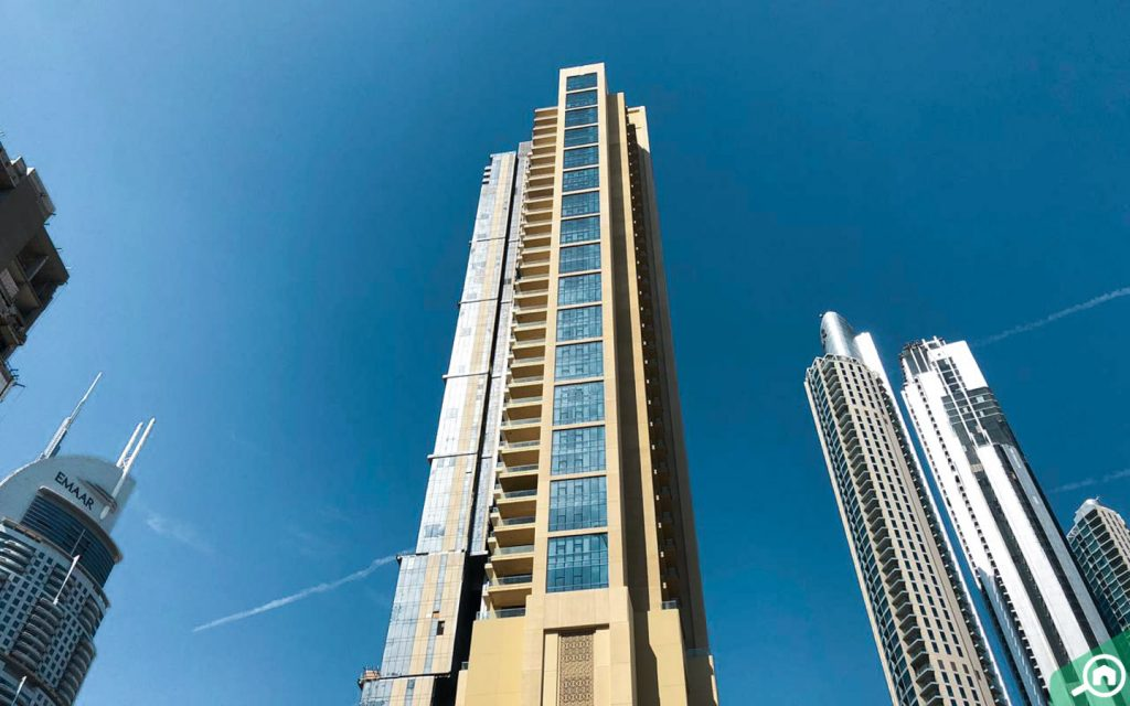 View of the 118 Downtown, which has the most expensive apartment in Dubai