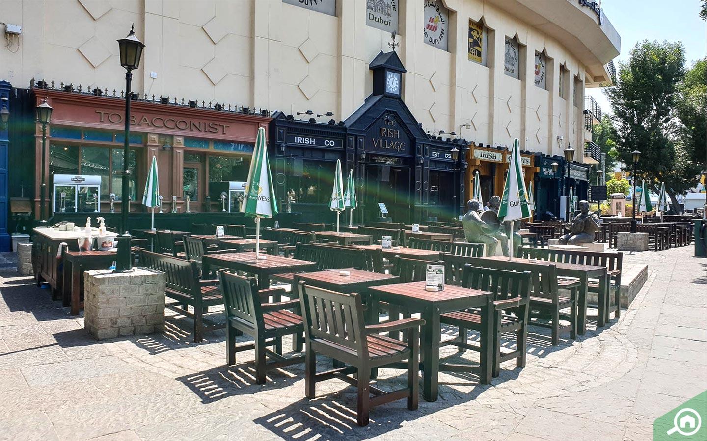 The Irish Village pub in Dubai