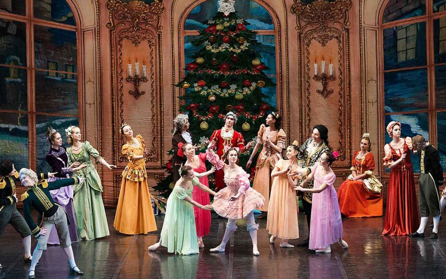 The Nutcracker cast, who will be performing at Dubai Opera shows