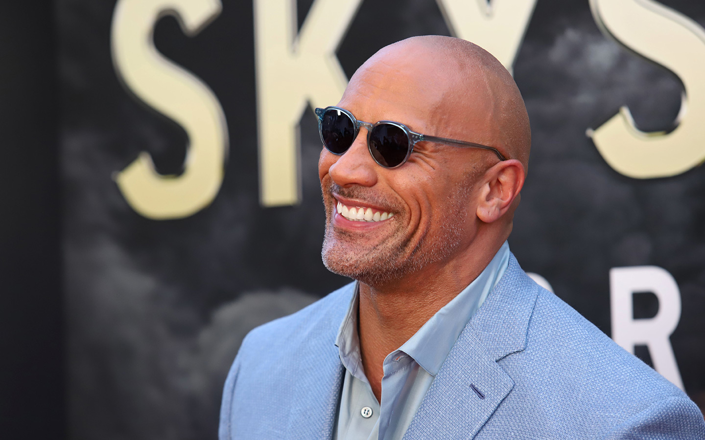 Dwayne The Rock Johnson has been awarded a star on the Dubai Walk Of Fame