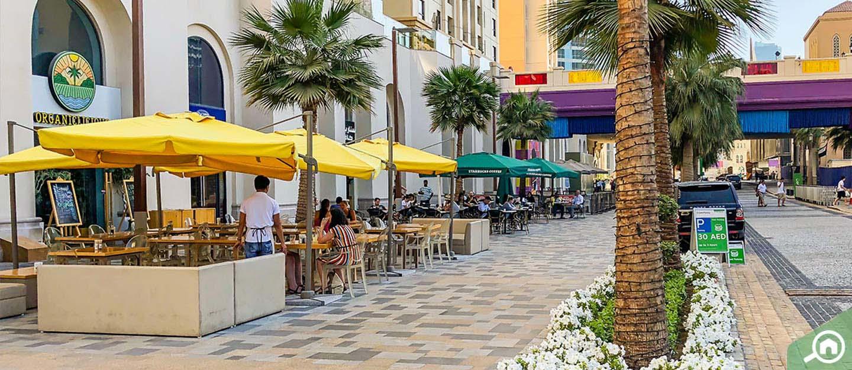 The Walk Dubai promenade