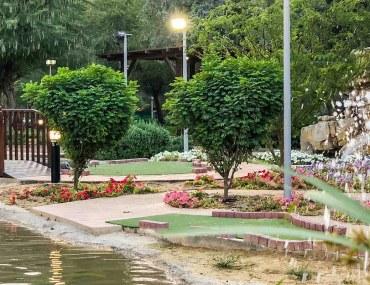 Mushrif Park pond