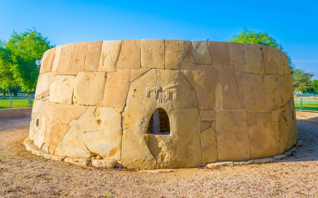 Tomb at Hili Archaeological Park