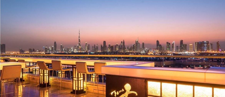Tomo Rooftop Restaurant in Dubai