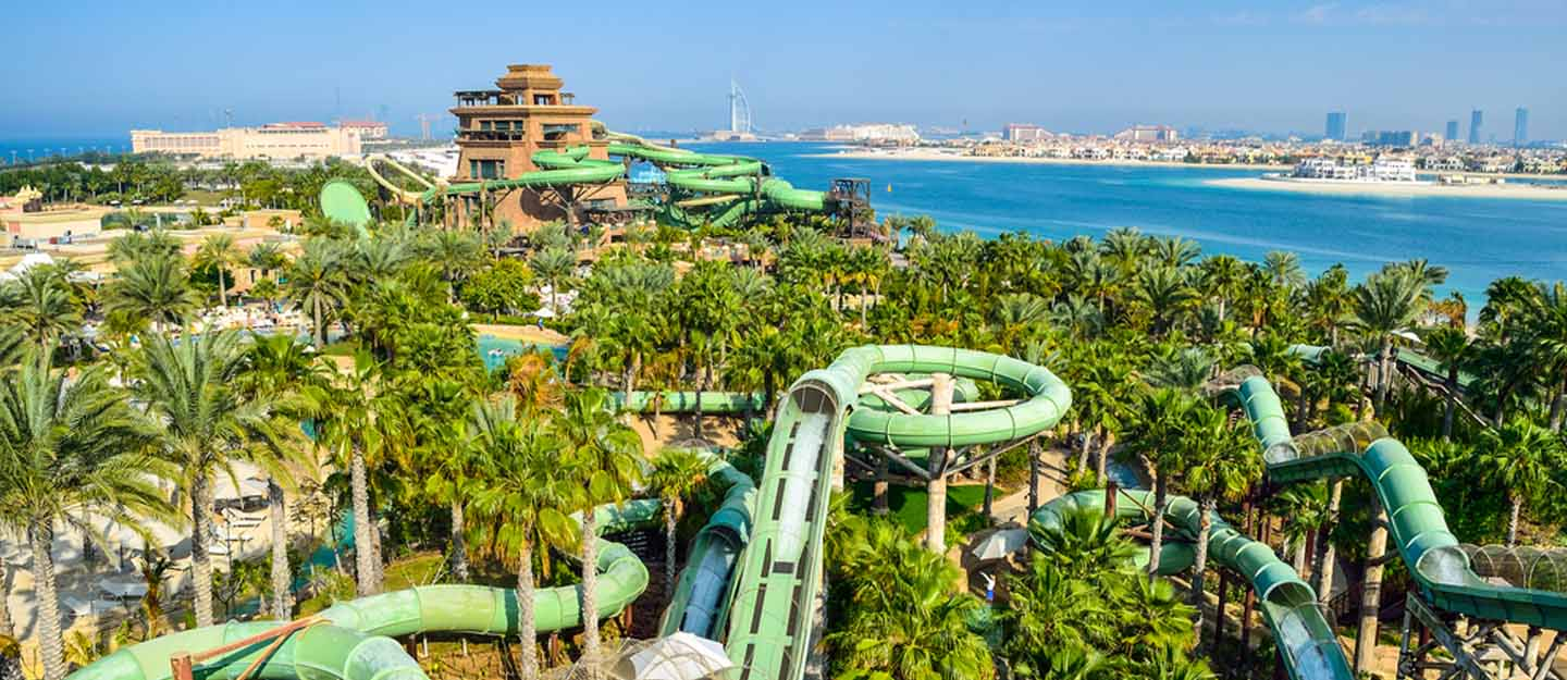 Top 10 theme park rides in the UAE
