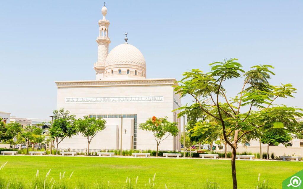 Mosque in Emirates Hills