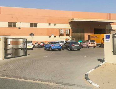View of one of the best warehouses for rent in Dubai