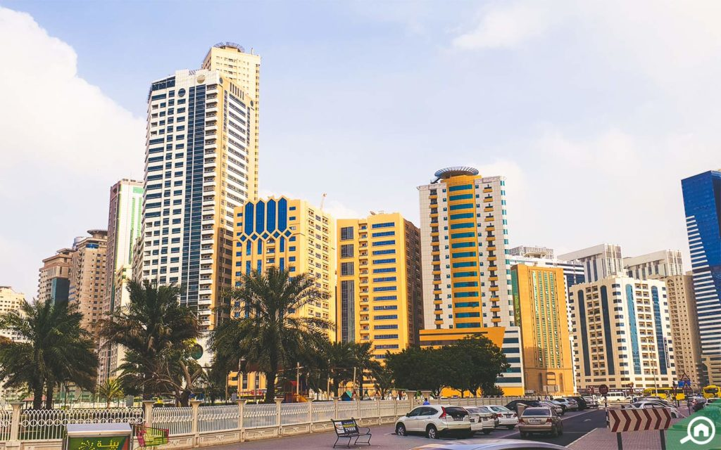 Al Nahda is located on the Dubai-Sharjah border