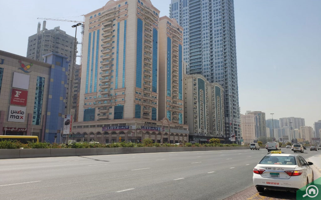 Top areas for renting in Sharjah includes Al Taawun