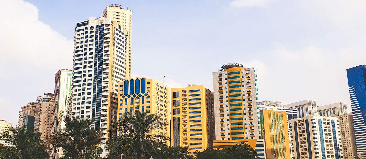 apartment complexes in Sharjah