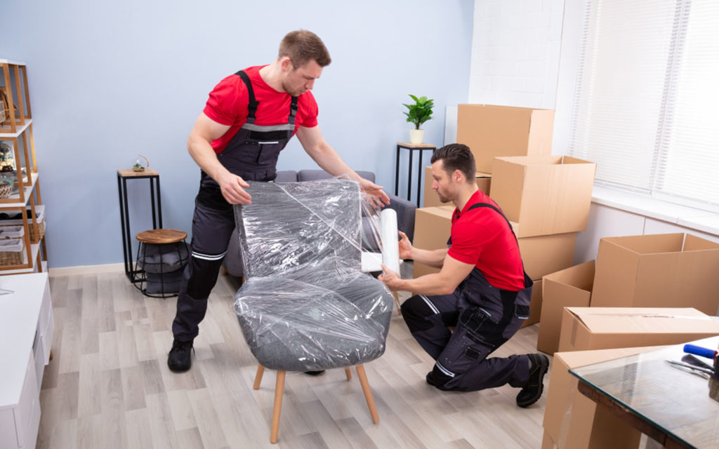 house movers at work in Fujairah