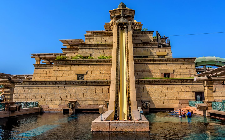 Tower of Neptune in Aquaventure Dubai