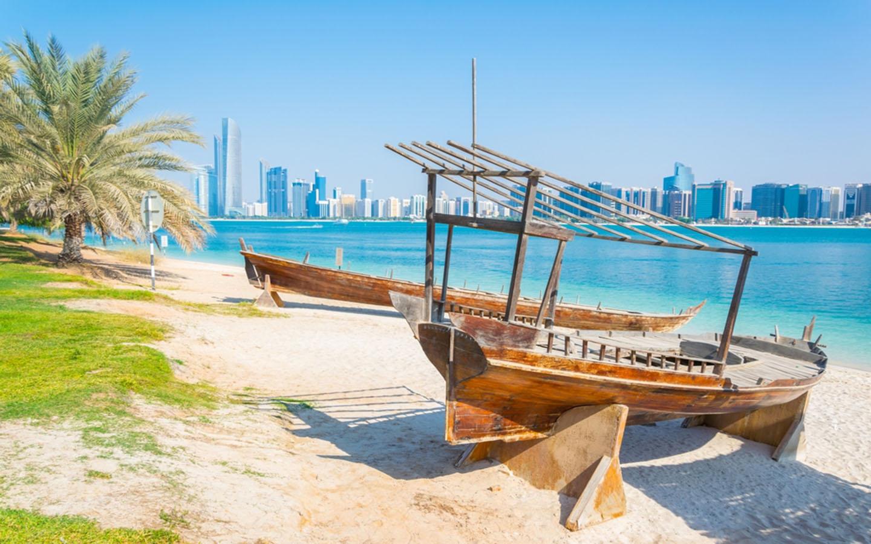 Heritage Village Abu Dhabi beach