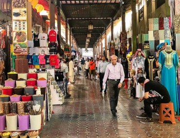 Textile Souk in Dubai