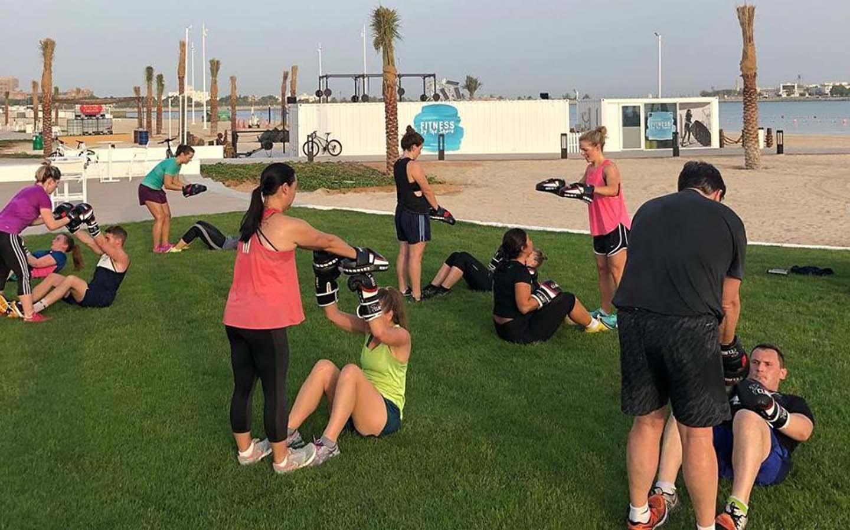 Beach fitness Al Bahar