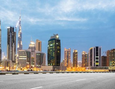 Road Speed limits in Dubai