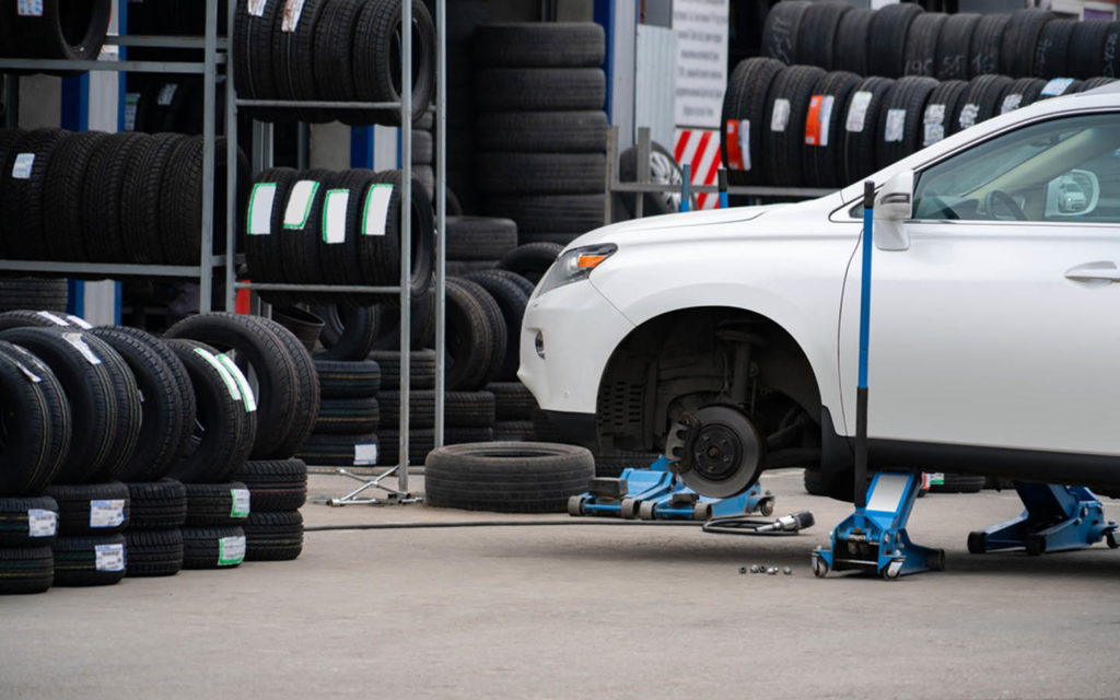 tyre shops in Dubai offer a number of different services
