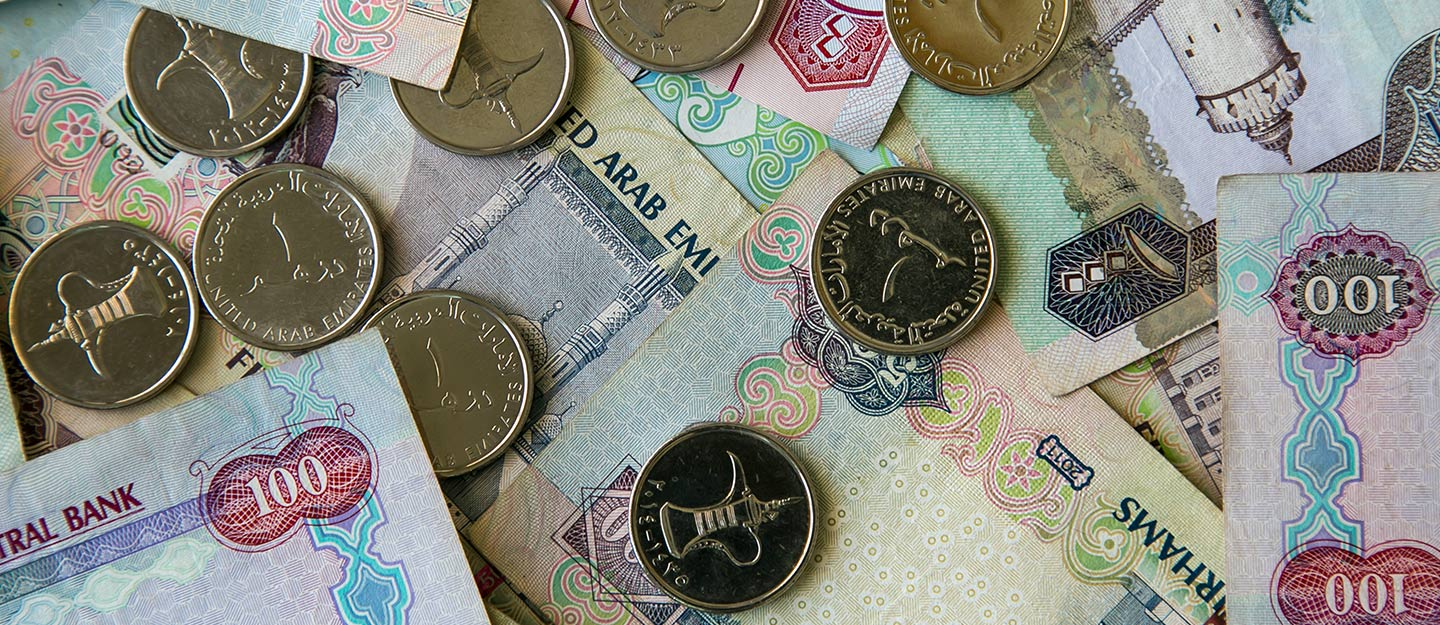 pictures of uae currency notes and coins