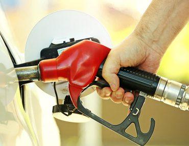 refueling a car in Dubai petrol station