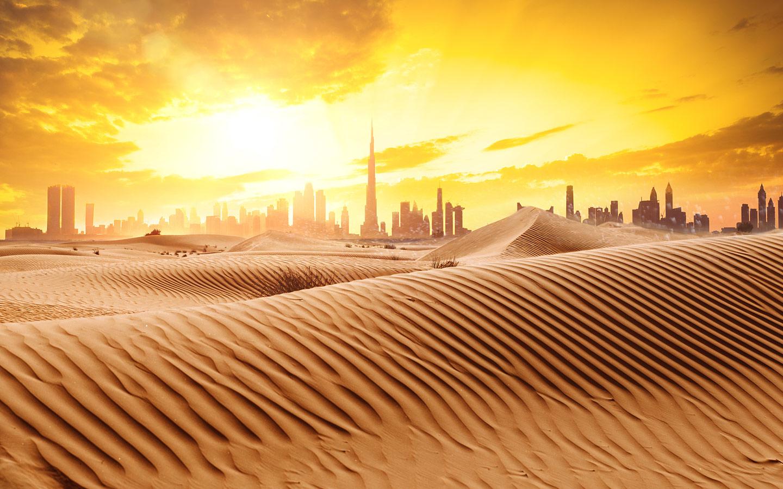 صحراء الامارات