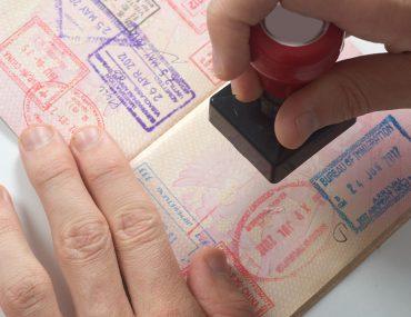 ختم الدخول أو الخروج على جواز