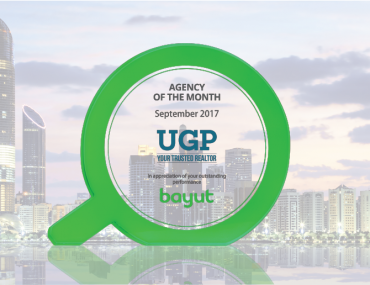 United Gulf Properties wins the September Agency of the Month award