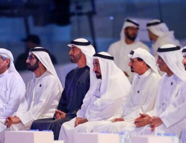 شيوخ الإمارات السبع